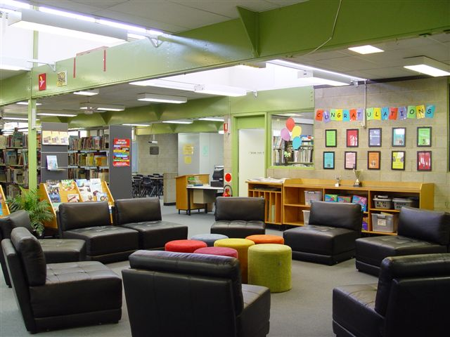 seating area in resource centre